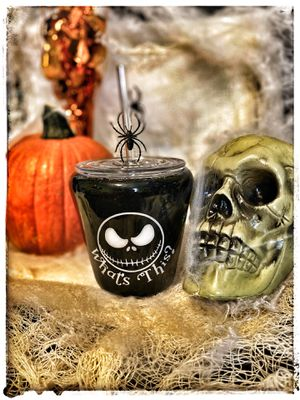 Nightmare before Christmas theme cup for Sale in Avella, PA