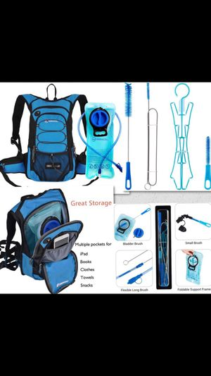 Hydration Backpack with cleaning kit for Sale in Kent, WA