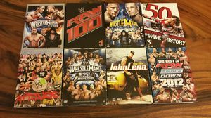 WWE 8 3 disc DVDs! for Sale in Clermont, FL