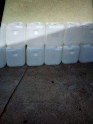 I have 40 Containers for gas oil or diesel $5 each they hold 5 gallons each for Sale in Compton, CA