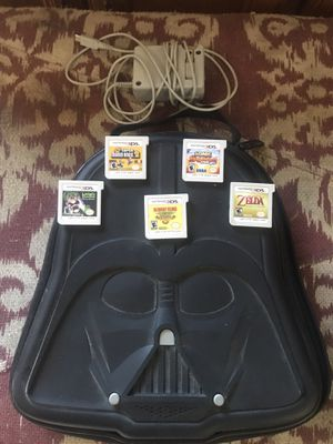 Nintendo 3DS games and Darth Vader case for Sale in Fontana, CA