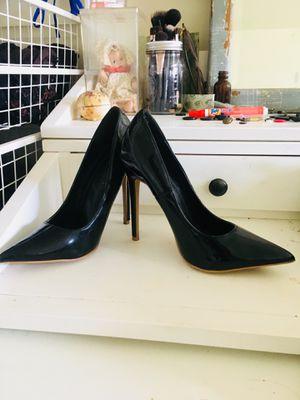 Shiny black High high heels for Sale in South Orange, NJ