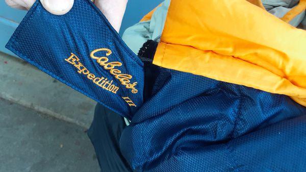 Cabela's Expedition 3 sleeping bag