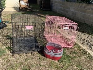 Black Dog crate for Sale in Upland, CA