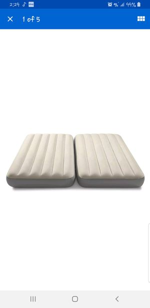 2-in-1 air twin air mattress set with electric pump for Sale in Maidsville, WV