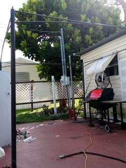 Canvas And Metal Half Tent for Sale in Palm Beach,  FL