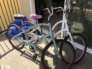 2 Electra Townie Bikes, Great Condition. Paid over $2000 for both. New Brakes, Chains & recently bike maintenance! for Sale in San Diego, CA