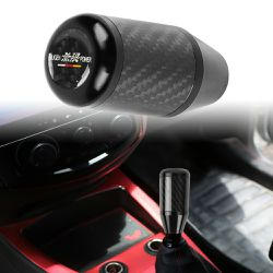 BRAND NEW UNIVERSAL MUGEN CARBON FIBER ALUMINUM SHIFTER KNOB BLACK for Sale in City of Industry,  CA