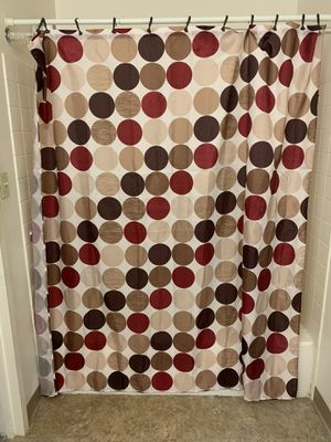 Standard Size shower curtain for Sale in East Providence, RI