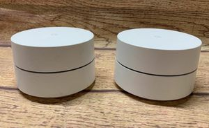 Google Wifi Router 2 pack perfect condition for Sale in Lake Forest, CA