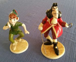 Peter Pan and Captain Hook figurines for Sale in Mount Airy, MD