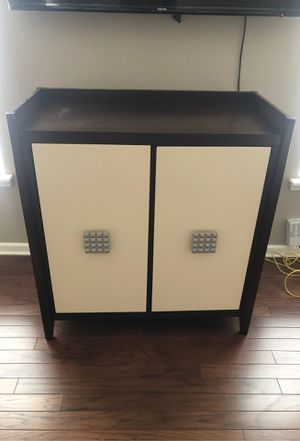 Creme and brown stand for sale for Sale in Charlotte, NC