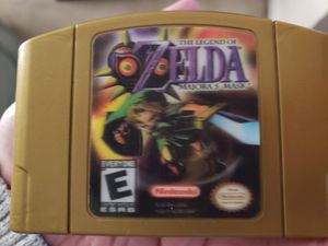N64 Zelda Ocarina of Time and Majoras Mask for Sale in Elyria, OH