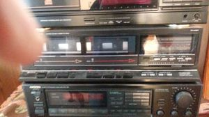 Onkyo receiver, Fisher cassette, Denon CD for Sale in Warren, MI