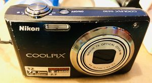 Nikon Coolpix S630 12MP Digital Camera w/ 7x Optical Vibration Reduction (VR) Zoom and 2.7 inch LCD for Sale in Mount Pleasant, SC
