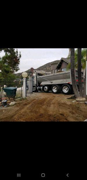 Bobcat and dump truck for Sale in La Verne, CA
