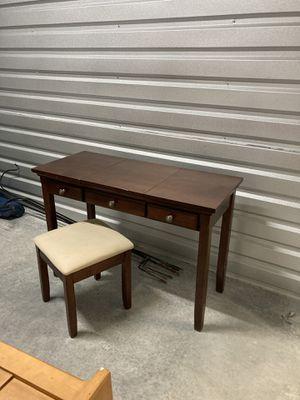 Vanity w/stool for Sale in Murray, UT