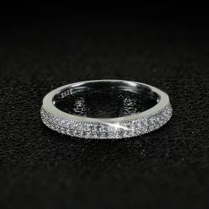 Stamped 925 Sterling Silver Engagement / Promise / Wedding Ring - Code SU01 for Sale in Miami, FL