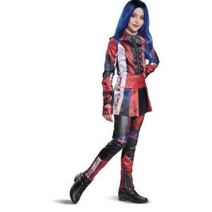 Kids' Deluxe Disney Descentdants Evie Halloween Costume Jumpsuit Size S (4-6x) for Sale in El Monte, CA