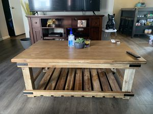 wood coffee table for Sale in Arvada, CO
