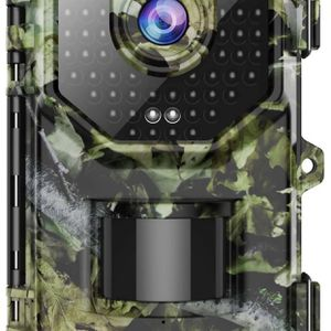 1080P 16MP Trail Camera, Hunting Camera with 120°Wide-Angle Motion Latest Sensor View 0.2s Trigger Time Trail Game Camera with 940nm No Glow and IP66 for Sale in Corona, CA