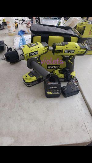 Ryobi 2 tool combo for Sale in Compton, CA