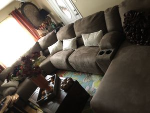 Dresser, chair, big sectional for Sale in Livermore, CA
