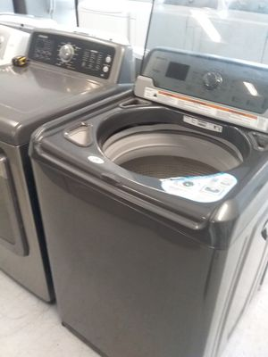Maytag washer and Samsung dryer used good condition 90days warranty 🔥🔥 for Sale in Mount Rainier, MD