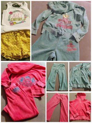 Toddler girl Juicy Couture sets for Sale in Albuquerque, NM