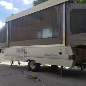 91 Coleman Arcadia pop up camper for Sale in San Tan Valley, AZ