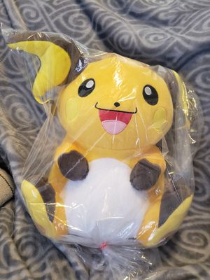 Pokémon RAICHU Banpresto Plush for Sale in Hayward, CA