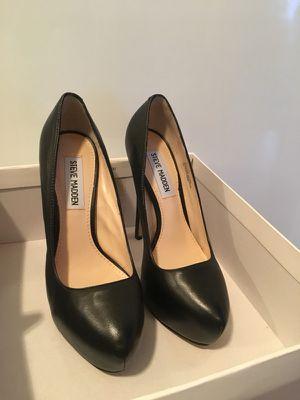 "Worn once Steve Madden 'Yasmin' 5"" heel in black leather Size 6 for Sale in Portland, OR"