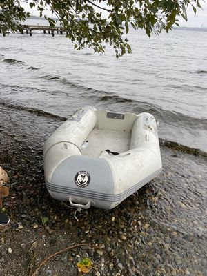 silver marine inflatable boat for Sale in Kirkland, WA