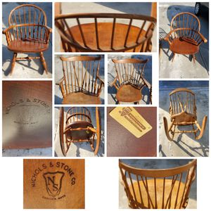 Antique wooden rocking chairs Nichols and stone for Sale in West Palm Beach, FL