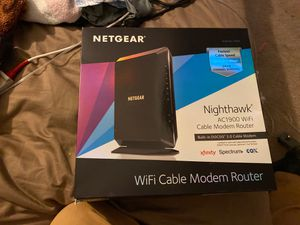 Netgear nighthawk modem router for Sale in Spring Valley, CA