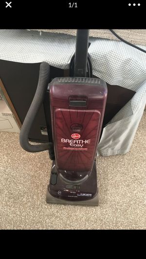 Hoover breathe right vacuum for Sale in Diamond Bar, CA