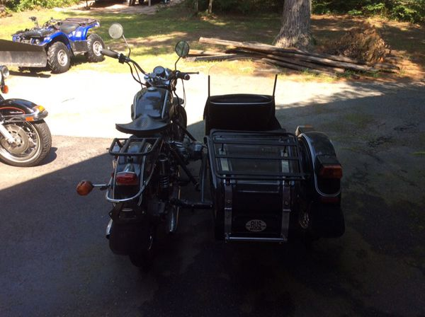 1998 Ural Motorcycle With Sidecar
