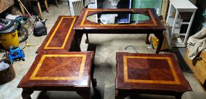 Fairmont D table set for Sale in Nevada City, CA
