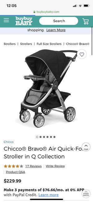 Chico BRAVO stroller $150 for Sale in Littlerock, CA