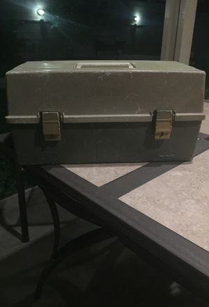 PLANO Tacklebox with gear for Sale in Fontana, CA