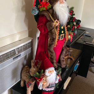 Big Santa Little Santa And The Reindeer All 3 Just 75$ for Sale in Los Angeles, CA