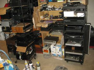 Vintage / modern stereo receivers amplifiers preamps turntables speakers tape cd players for Sale in Sykesville, MD