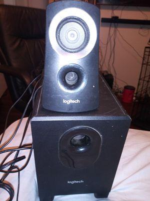 Logitech model z313 powered speaker system for Sale in Dallas, NC