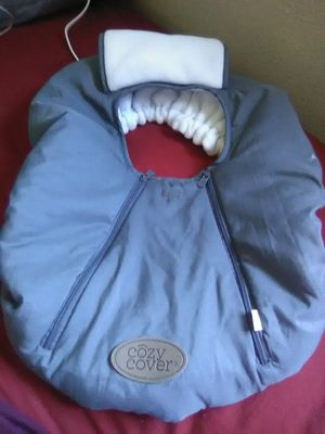 Cozy cover for infant car seat for Sale in Willows, CA