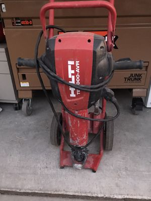 Hilti Chipping Hammer TE3000-AVR!! for Sale in Las Vegas, NV