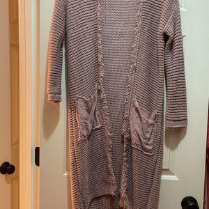 Mauve Free People Long Sleeve Knit Cardigan for Sale in Draper, UT
