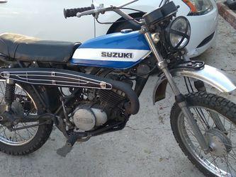 72 Suzuki Ts185 Runs Clean Title for Sale in Riverside,  CA