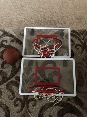 2 Basketball hoops and the ball for Sale in Austin, TX