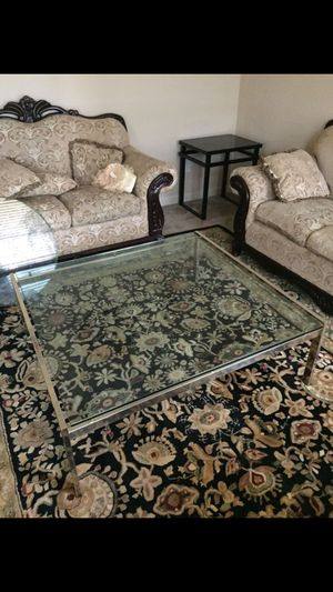 glass table for Sale in Lawrenceville, GA