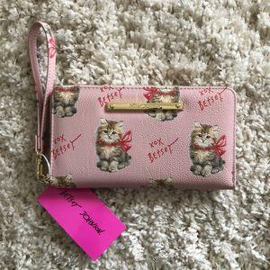 Betsey Johnson kitty wallet for Sale in Turlock, CA